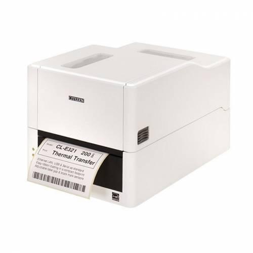 Imprimanta De Etichete Citizen Cl-e321 203dpi Ethernet Alba