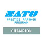 logo sato prestige partner program champion