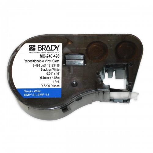 Banda continua vinil Brady MC-240-498 6.1mm 4.88m