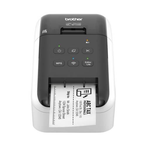 Imprimanta De Etichete Brother Ql-810w 300dpi Wi-fi Auto-cutter