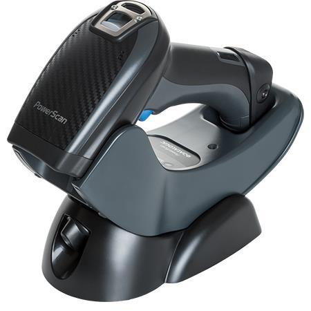 Cititor coduri de bare Datalogic PowerScan PM9500-RT 2D Digimarc RF serial cradle negru