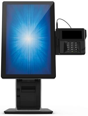 Sistem Kiosk complet Elo Wallaby 22I2 imprimanta Star TSP654IIU suport cititor carduri