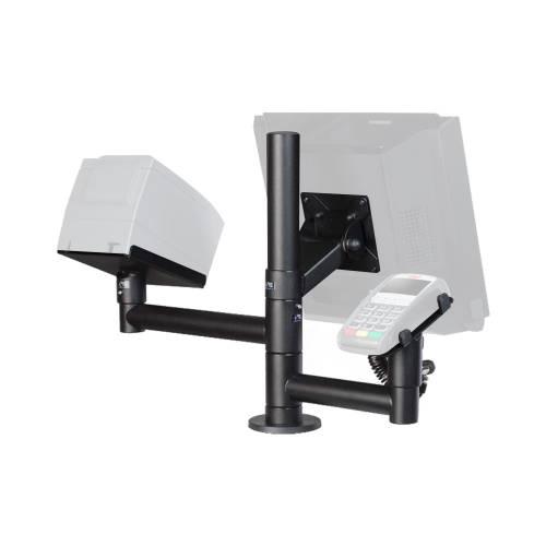 Suport SpacePole SSPMTPI pentru monitor imprimanta si terminal de plata 300 mm