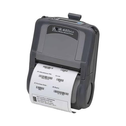 Imprimanta Mobila De Etichete Zebra Ql420 Plus 203dpi Wi-fi [reconditionata]